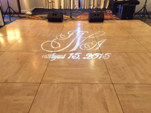 gobo led monogram
